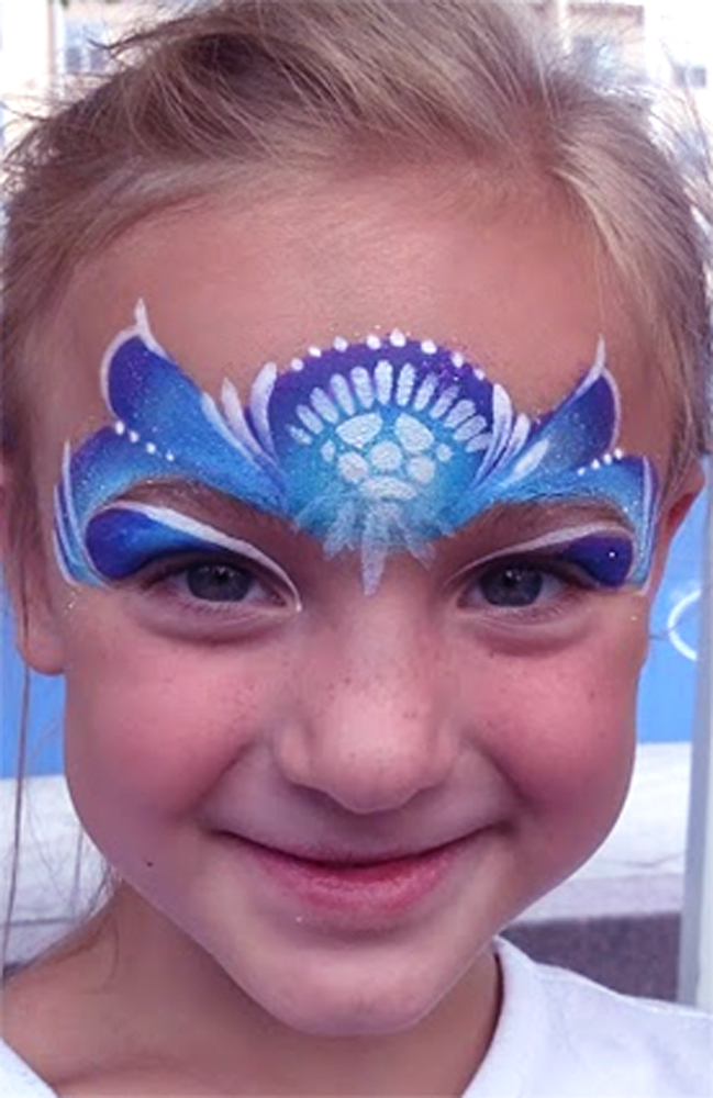 Elsa Princess CIncinnati face painting