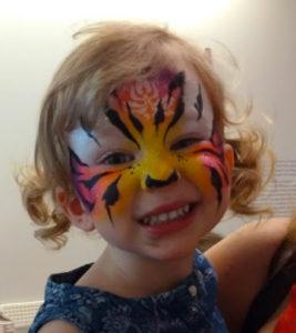 Cincinnati Contemporary Art Museum rainbow tiger