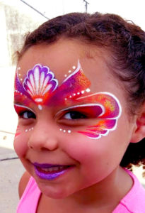 Princess face painting charter schools